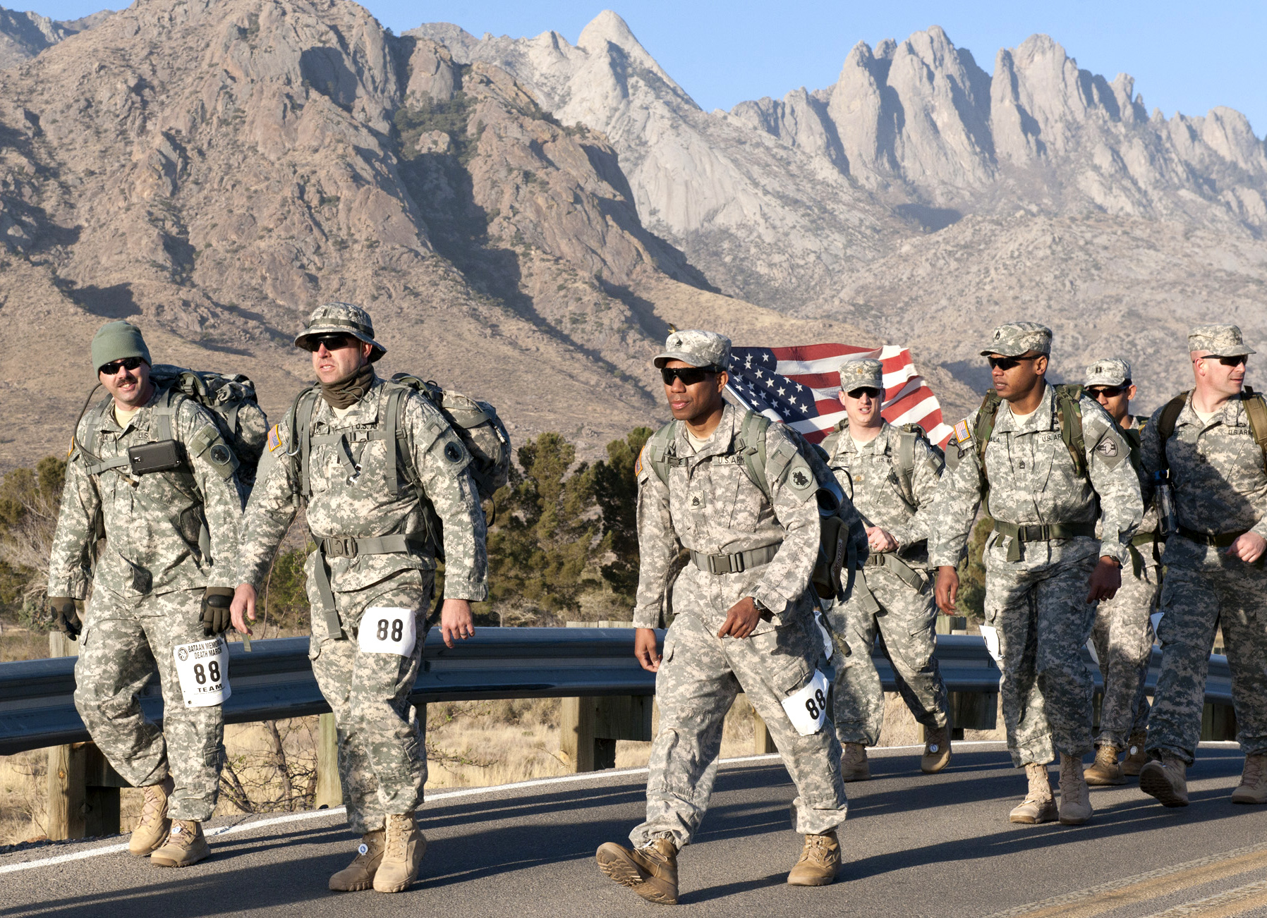 what is typically the final result in all the bataan dying march