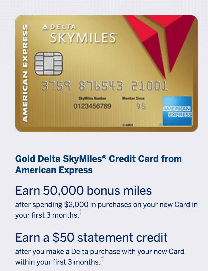 New offer 50000 delta skymiles 50 credit card offer running 50000 delta skymiles 50 statement credit reheart Gallery