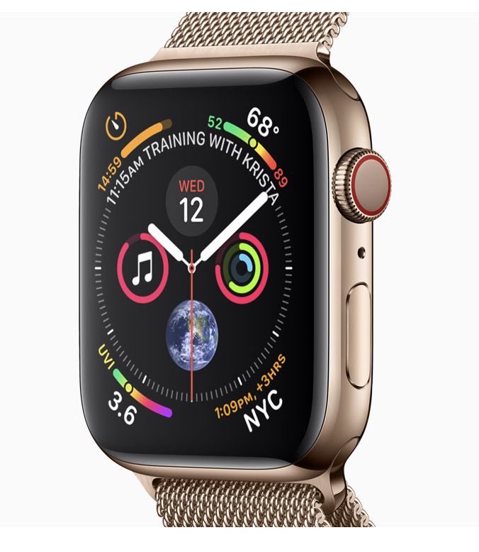 The Apple Watch Series 4 LTE Capability Is NOT For International